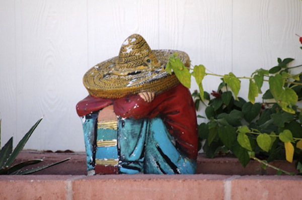 Mexican immigration and california citrograph with images for Lawn ornaments for sale