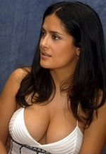 Thumbnail image for UNESCO adds Salma Hayek's breasts to world heritage list
