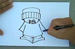 Thumbnail image for CholoWizard Graffiti: How to draw a cholo (video)