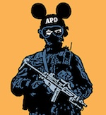 Thumbnail image for Anaheim: Home of the 'Happiest Police on Earth' (new poster)