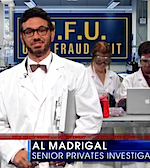 Thumbnail image for Al Madrigal, Jon Stewart and the case of the Olympic stiffy (video)
