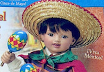 Thumbnail image for Own a Mexican boy! Miguel is posable, wears an authentic ensemble