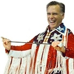 Thumbnail image for Romney is out of the closet and into the polling booth, girls (photos)