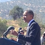 Thumbnail image for Obama dedicates César Chávez monument and we were there (photos)