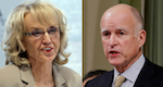 Thumbnail image for CA's Jerry Brown vetoes 'Trust Act,' AZ's Jan Brewer approves