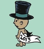 Thumbnail image for La Cucaracha: Happy New Year 2013 (toon)