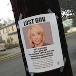 Thumbnail image for Have you seen her? Search for LOST GOV takes it to the streets (photo)*