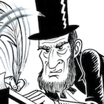 Thumbnail image for And then there were those Lincoln didn't free… (toon)