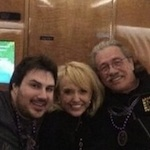 Thumbnail image for Caption this photo: [Edward James Olmos and Friend(s)]