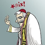Thumbnail image for Retiring Pope Benedict XVI says his final 'adios' (toon)