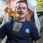 Thumbnail image for Canadian astronaut makes peanut butter and honey burrito (video)