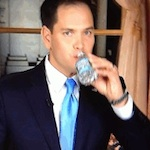 Thumbnail image for Pocho Ocho reasons GOP Sen. Marco Rubio drank so much water