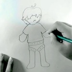Thumbnail image for He starts out sketchy, then he turns into 'Quite A Character' (video)