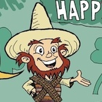 Thumbnail image for La Cucaracha wishes you a Happy Sainto de Mayo (toon)