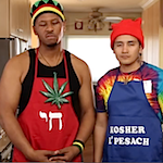 Thumbnail image for Hebrew homies Jaquann and Luis make matzo balls (NSFW video)