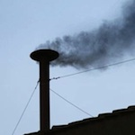 Thumbnail image for Pocho Ocho other Papal smoke signals beside black and white