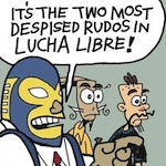 Thumbnail image for La Cucaracha: Lucha libre comes to Washington, D.C. (toon)