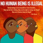 Thumbnail image for No human being is illegal (toon)