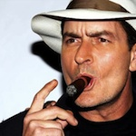 Thumbnail image for Charlie Sheen debuts 'Carlos Estevez' line of Hispanic Charlie Sheen