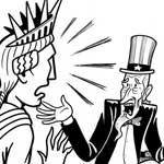 Thumbnail image for Uncle Sam: 'I'm all about Stand Your Ground' (toon)