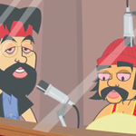 Thumbnail image for Animated Cheech and Chong: 'WEed Are the World' (NSFW 4/20 video)