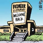 Thumbnail image for La Cucaracha: Welcome back to school, kids! (toon)