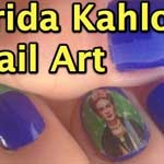 Thumbnail image for Nail art by @SaraChicaD: The Frida Kahlo look (video)