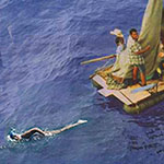 Thumbnail image for Swimmer Diana Nyad tows 400 balseros from Cuba to USA