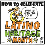 Thumbnail image for La Cucaracha: Latino Heritage Month? Traditional costumes! (toon)