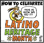 Thumbnail image for La Cucaracha: How we celebrate Latino Heritage Month (toon)