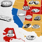Thumbnail image for There's a map for that: Best foods in every state (infographic)