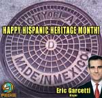 Thumbnail image for L.A. Mayor Eric Garcetti: 'Happy Hispanic Heritage Month!' (photo)