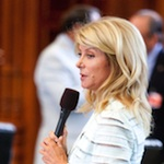 Thumbnail image for Birthers question Sen. Wendy Davis of Texas: 'Is she really white?'