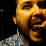 Thumbnail image for Vine video: @WilW Wheaton eats chips and salsa