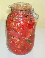 Thumbnail image for Tia Lencha's Cocina: Roasted Red Chanukah Christmas Kwanzaa Salsa