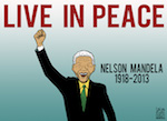 Thumbnail image for Nelson Mandela Rest In Peace (toon)