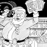 Thumbnail image for Pope Francis makes war on Christmas (toon)