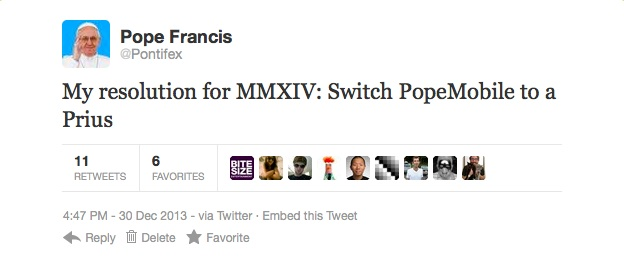 popetweet