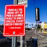 Thumbnail image for Artist marks rap history at Los Angeles' intersections (NSFW video)
