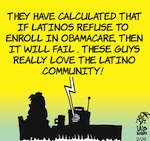 Thumbnail image for La Cucaracha: Less Obamacare, more health food tacos (toon)