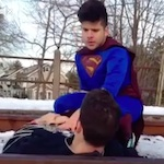 Thumbnail image for It's a bird, it's a plane, it's Hispanic Superman! (Vine video)