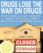 Thumbnail image for Breaking: Drugs disappear from Texas after El Chapo's arrest