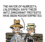 Thumbnail image for La Cucaracha: Murrieta, CA is concerned for the kids (toon)