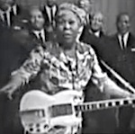 Thumbnail image for Sister Rosetta Tharpe: I ain't gonna study war no more (music video)