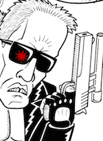 Thumbnail image for Obama and the Terminator sitting in a tree, T-I-M-E traveling (toon)