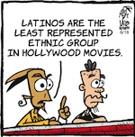 Thumbnail image for La Cucaracha: Where are the Latino movie actors? (toon)