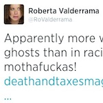 Thumbnail image for Tweet of the Day via Roberta Valderrama (@RoValderrama)