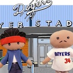 Thumbnail image for 'Hey Vato!': One does not simply ENJOY a Doyers game! (2014 video)