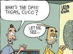 Thumbnail image for La Cucaracha: What's today's date on the Aztec Calendar? (toon)