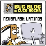 Thumbnail image for La Cucaracha: 'The Washington Post' breaks news from 2003 (toon)